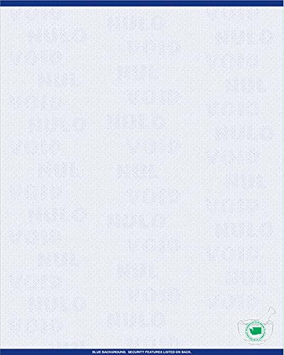 (Premium Washington State Prescription Security Laser RX Sheets 8.5 x 11 (1,000 Sheets))