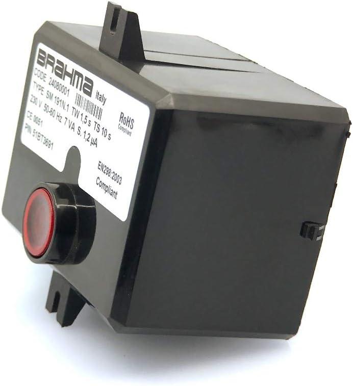 Bloque de control Brahma SM191N.1 code 24080001 TW 1,5s TS 10s