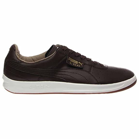 Amazon.com | Puma G Vilas L2 Sneaker- Brown- Gold (8.5) | Fashion Sneakers