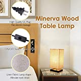 Minimalist Beside Table Lamp, Minerva Japanese