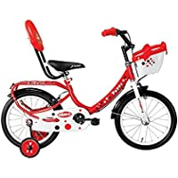 Hero Peppy Steel Bicycle, Junior (Red)