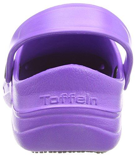 Toffeln Eziklog Unisex-Erwachsene Sicherheitsschuhe, Violett (Violett) - Größe: 42 EU ( 8 UK )