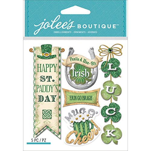 Jolees Boutique Dimensional Stickers, Irish Words and ()