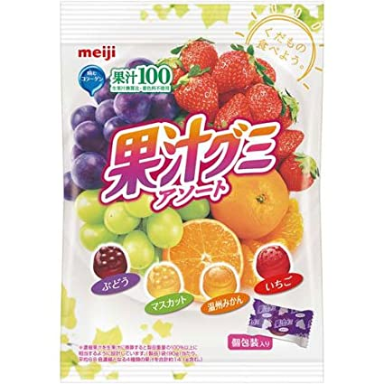 Amazon | 明治製菓 果汁グミ 個...