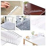 PVC Placemat Soft Glass Tablecloth Transparent