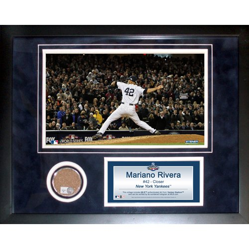 Steiner Sports MLB New York Yankees Mariano Rivera 11 x 14-inch Mini Dirt - Photomint Stadium Yankee