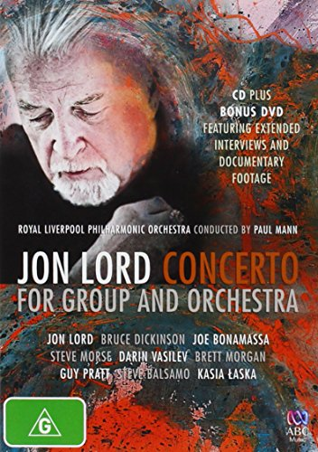 Jon Lord's Concerto for Group and Orchestra (Royal Liverpool Philharmonic Orchestra) (Paul Mann) [2 Discs] [Region 4]