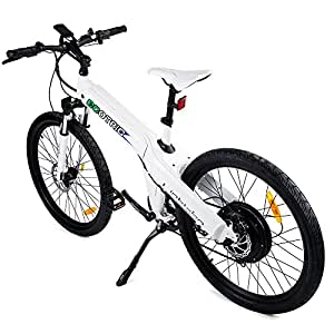 ecotric 26 inch electric bike white electric. Black Bedroom Furniture Sets. Home Design Ideas