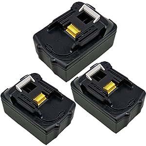 bouyi–Recambio BL143014.4V 3000mAh para Makita BL1430BL1430BL1415Li-Ion batería, LG celdas
