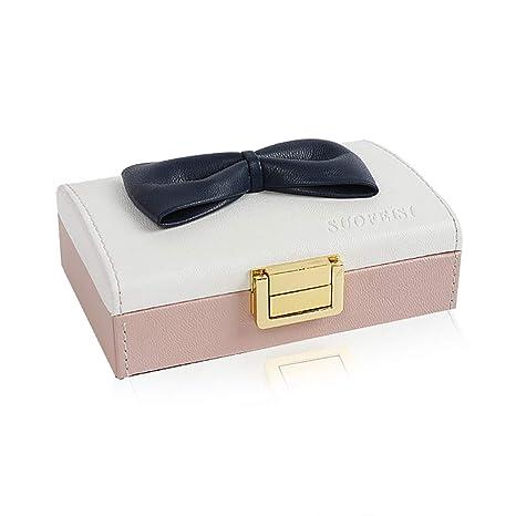 RTTssa Cajas de joyería Caja de joyería Caja de Almacenamiento Caja de Anillo pequeña Caja de