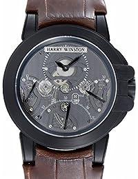 Harry Winston Ocean mechanical-hand-wind mens Watch 400/mcda44zk (Certified Pre-owned)