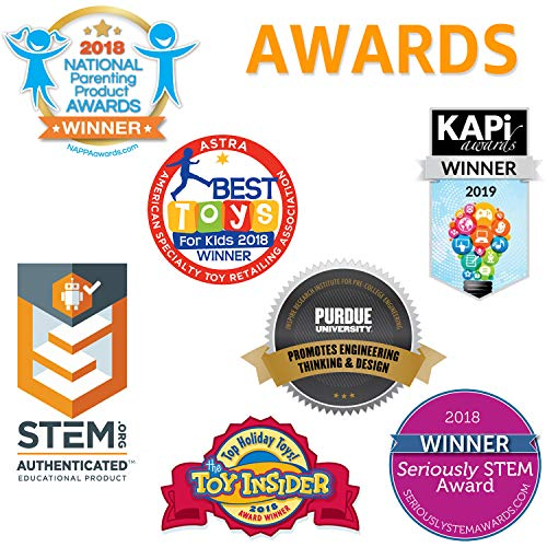 517dXpxfMfL - Snap Circuits BRIC: Structures ~ Brick and Electronics Exploration Kit | Over 20 STEM & Brick Projects | 4-Color Idea Book | 20 Snap Modules | 75 BRIC-2-SNAP Adapters | 140+ BRICs