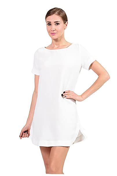 Ivory Shift Dress
