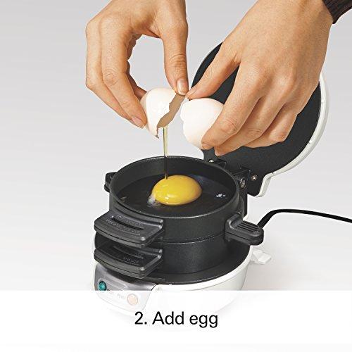 Proctor Silex 25479 Breakfast Sandwich Maker, White by Proctor Silex (Image #3)