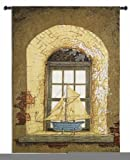 Fine Art Tapestries ''Lighthouse Window'' Wall Tapestry