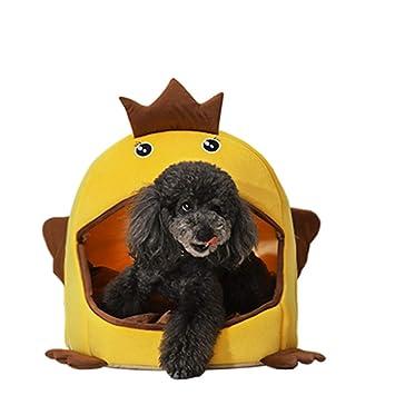 Caseta Canina Canina para Perros de Doble Uso Casa para Mascotas Cuatro Temporadas Bandeja de la Perrera del Perro del Reemplazo del Regalo Universal: ...