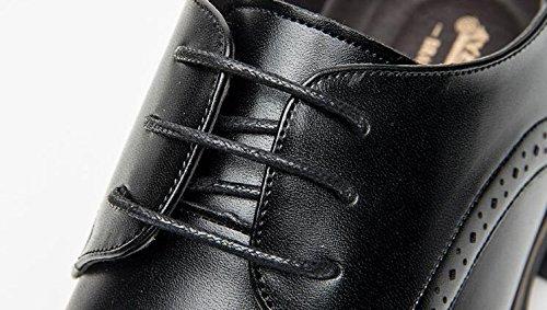 Herrenschuhe Frühling und Sommer Neue Herren Business Niedrigen Kleid Schuhe Hohlen beiläufigen Niedrigen Business Schuhen schwarz d68d05