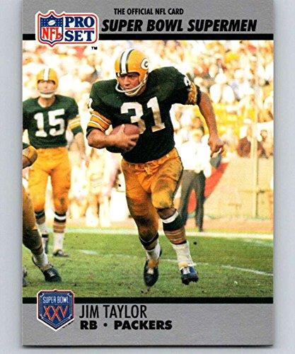 1990 Pro Set Super Bowl 160#132 Jim Taylor Packers NFL Football ()