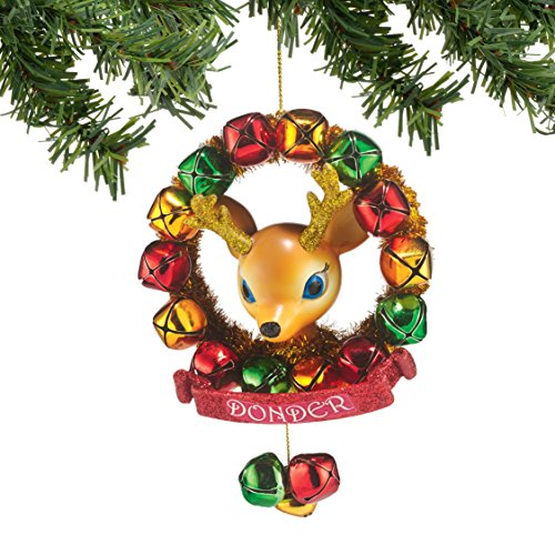Department 56 Reindeer Tales Donder Wreath Ornament