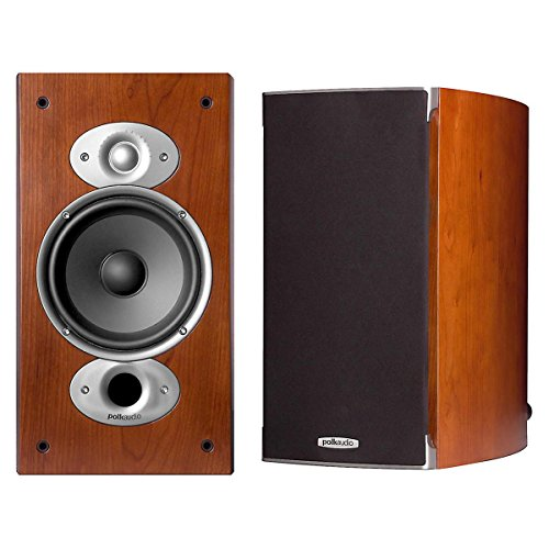 Polk Audio Rti A3 Cherry Rti A3 6.5″ Cherry High Performance Bookshelf Loudspeakers Am3372-a