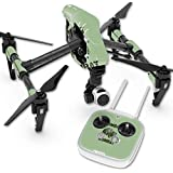 Skin For DJI Inspire 1 Quadcopter Drone – Combat Wombat | MightySkins Protective, Durable, and Unique Vinyl Decal wrap cover | Easy To Apply, Remove, and Change Styles | Made in the USA