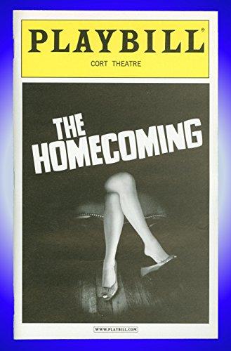 The Homecoming, Broadway Playbill + Raúl Esparza, Ian McShane, Eve Unsurpassed, Michael McKean, James Frain, Gareth Saxe