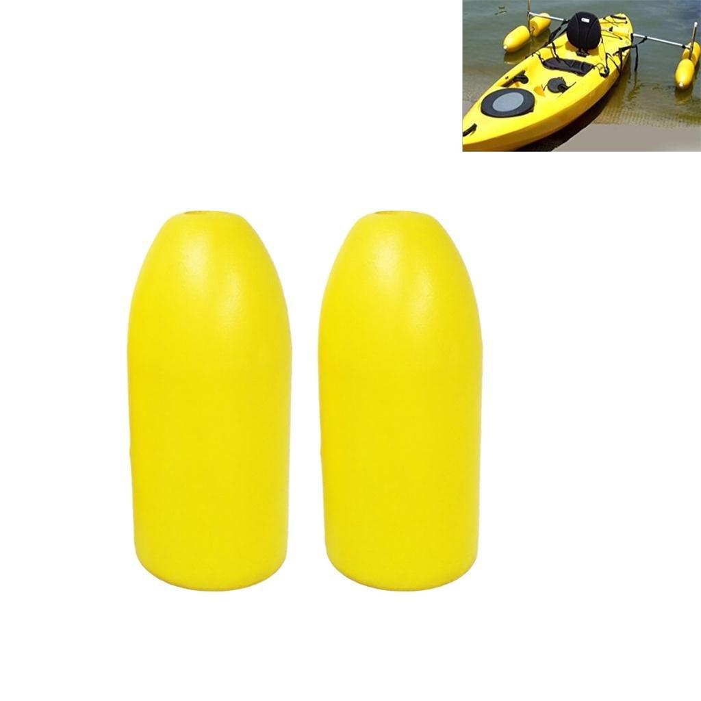 2 Unidades de Estabilizador Flotante Material de Espuma de PVC Adecuado para Kayak Canoa Remar