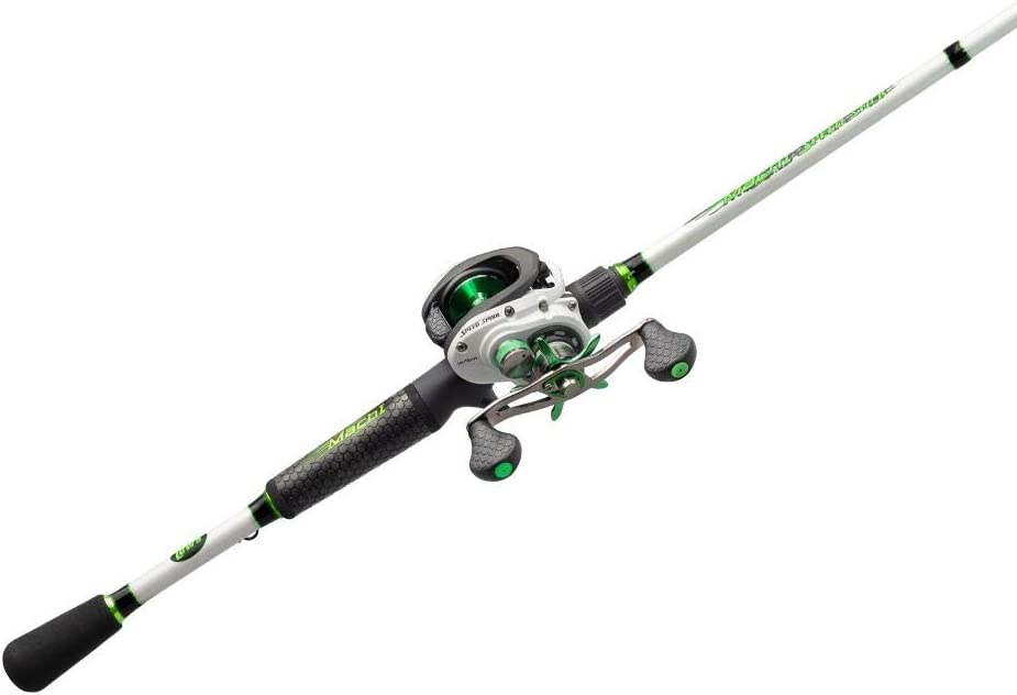 Amazon Com Lew S Fishing Mach 1 Speed Spool Slp Combo Baitcast Combo Baitcasting Reel Fishing Reel And Fishing Rod Fishing Gear And Equipment Fishing Accessories Mh1sha610mh Sports Outdoors
