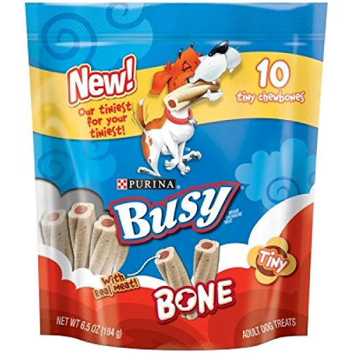 Purina 381054 Busy Bone Tiny For Pets (Pack Of 8), 6.5 Ounce