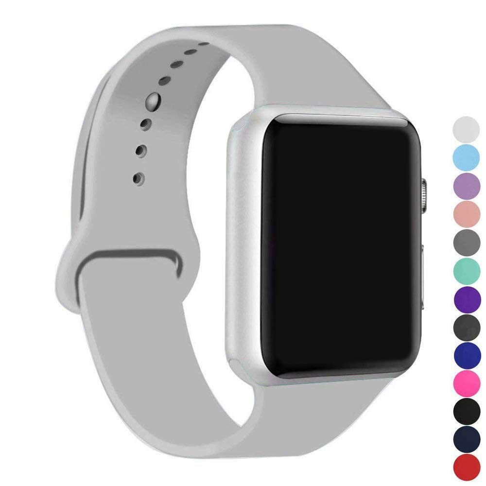 Malla Silicona para Apple Watch (38/40mm) IC6SPACE [H1V5P6F]