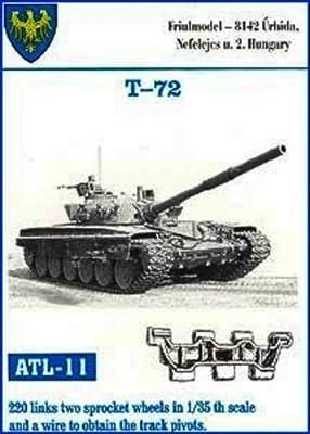 Friulmodel ATL11 1/35 Metal Track Link Set with Drive