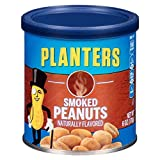 Planters Peanuts, Smoked & Salted, 6 Ounce