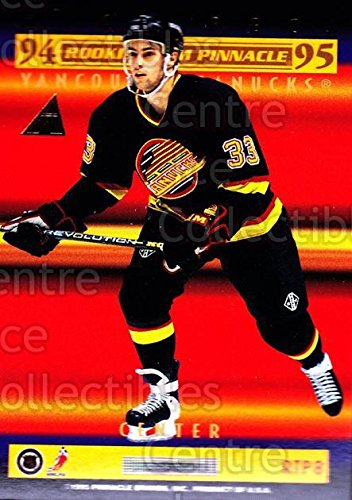 ((CI) Brian Rolston, Michael Peca Hockey Card 1994-95 Pinnacle Rookie Team Pinnacle B 8 Brian Rolston, Michael Peca)