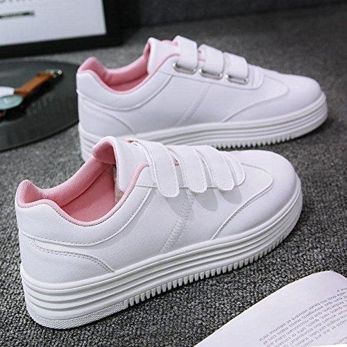 Cybling Mocasines Zapatos Para Mujer De Moda Casual Sneakers Outdoor Walking Entrenadores Zapatos De Color Rojo