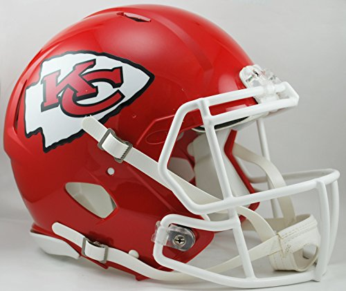 Riddell Revolution Helmets - NFL Kansas City Chiefs Speed Authentic Football Helmet