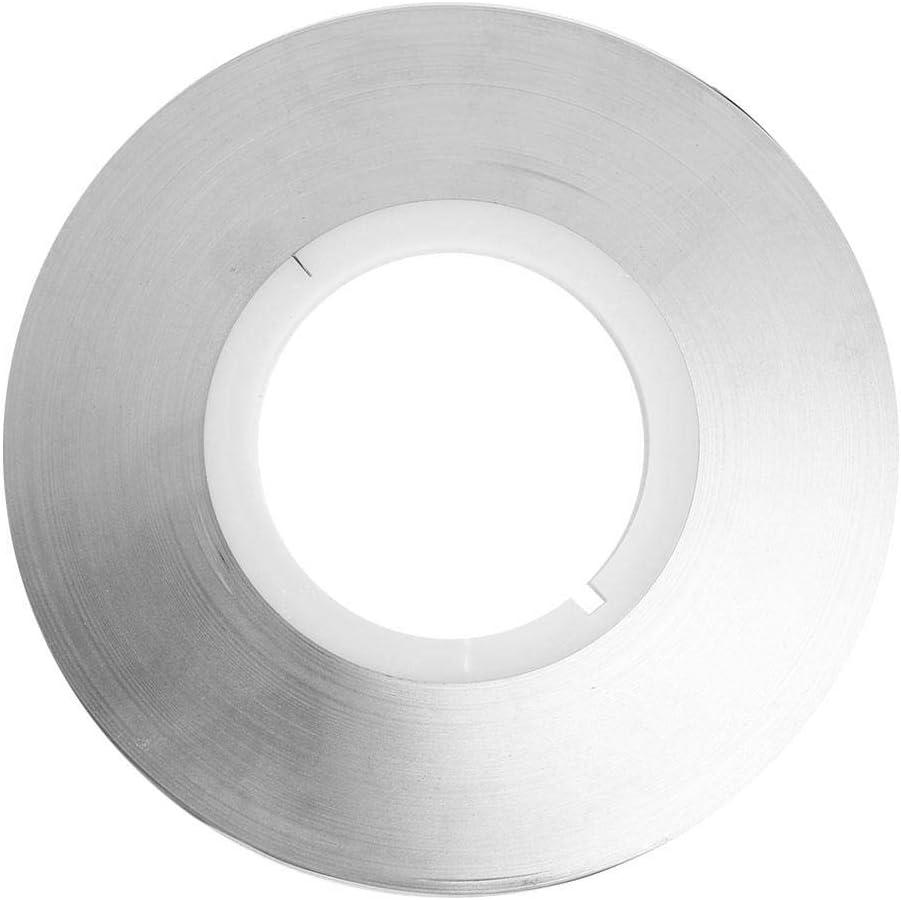 Cinta de tira de níquel de 0.12 mm, cinta de tira chapada en acero Batería herramienta de cinta de soldadura por puntos 1 kg para energía móvil, tesoro de carga(0.12 * 8mm)