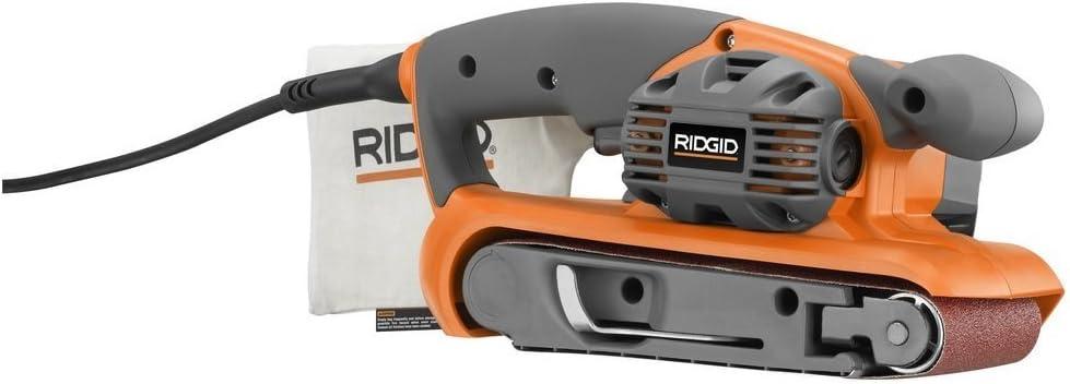 RIDGID R2740 Heavy Duty Variable Speed Belt Sander 3 in. x 18 in - Power Belt Sanders -