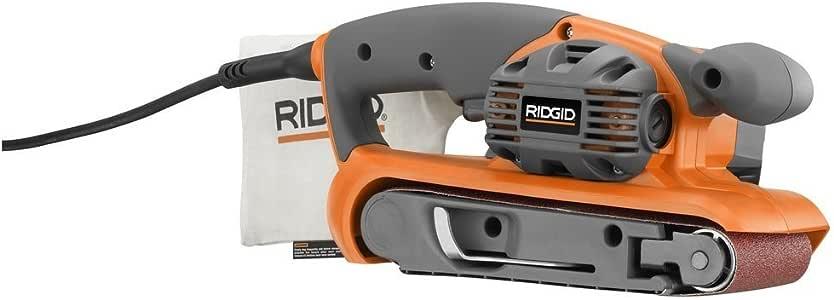 RIDGID R2740 Heavy Duty Variable Speed Belt Sander 3 in. x 18 in