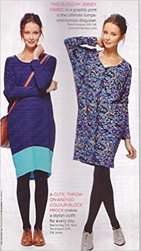 Prima Sewing Pattern, October 2014, Ladys Cocoon Shrug Dress, Sizes ...
