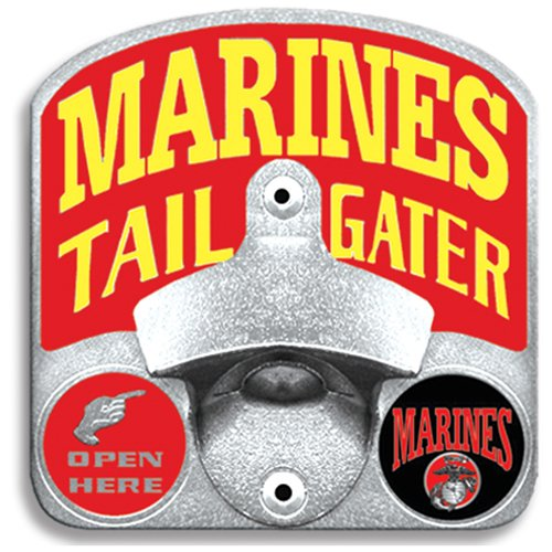 Hitch Bottle Opener (Siskiyou STH19TZ Marines Bottle Opener Hitch Cover)