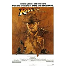 Raiders Of The Lost Ark Indiana Jones Movie\xa0 27x40 Poster Art Print Classic