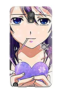 Shock-dirt Proof Winter Anime Case Cover For Galaxy Note 3