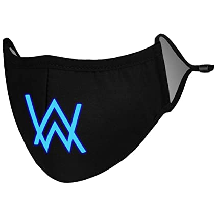 amazon com alan walker mask cool cotton face mask cosplay costume