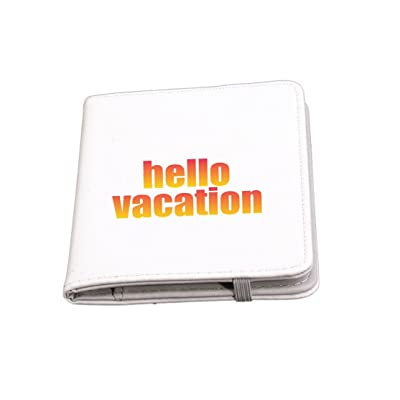 Rikki Knight Hello Vacation Design Premium Passport Case