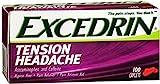 Excedrin Tension Headache Caplets 100 Caplets (Pack of 12)