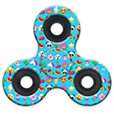 Spinner Squad High Speed & Longest Spin Time Fidget Spinners (mini emojicon turquoise)