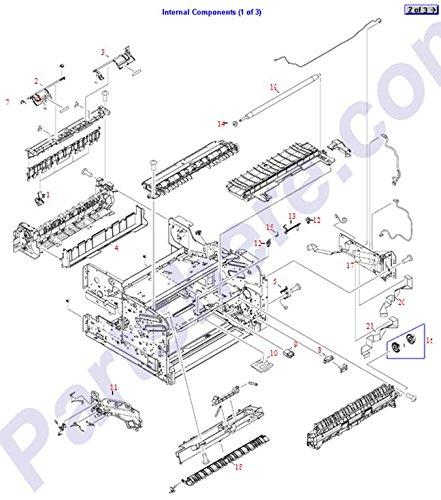 HP RC1-7261-000CN Paper sensor flag - Leading edge paper sensor - Paper Sensor Hp Flag