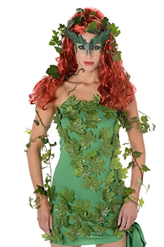 Old Movie Character Costumes (Women's Ivy Vine Vixen Costume - Halloween (M))