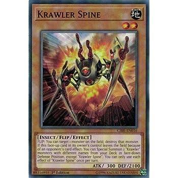 Krawler Spine Yugioh Card Genuine Yu-Gi-Oh Trading Card