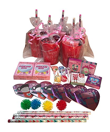 Conversation Heart Pencils (Valentine's Day Pre-Filled Favor Gift Bags! Valentines Day Party Favors & Valentines Day Gifts! Set of 3)